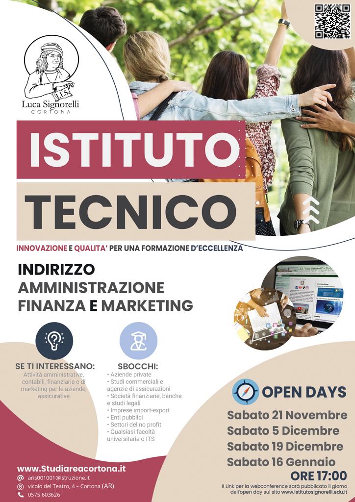 Brochure corso Amministrazione Finanza e Marketing (I.T.E.)