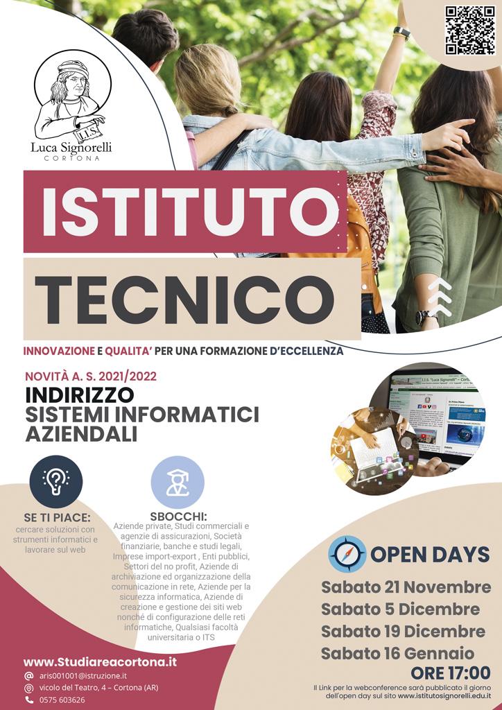 Brochure corso Servizi Aziendali Informativi(I.T.E.)
