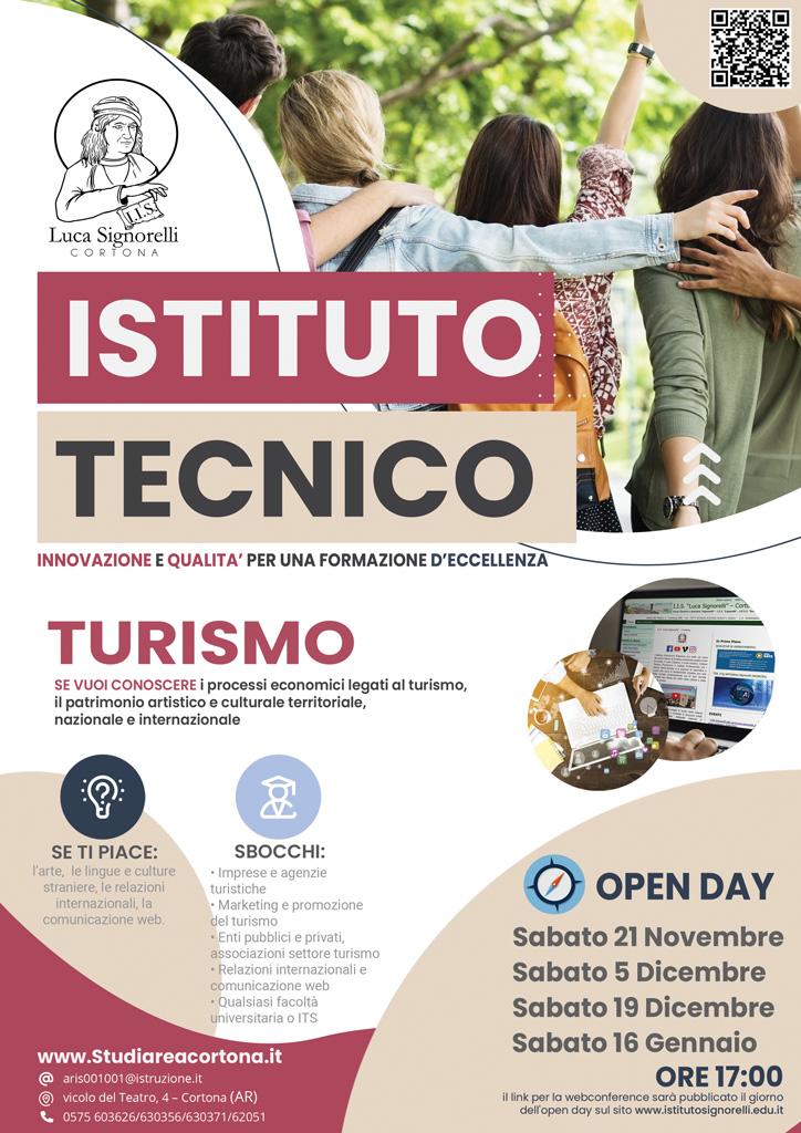Brochure corso Turismo (I.T.E.)
